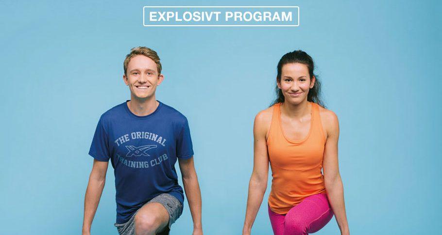 Bli sterkere og raskere med eksplosivt program fra Asics Want It More