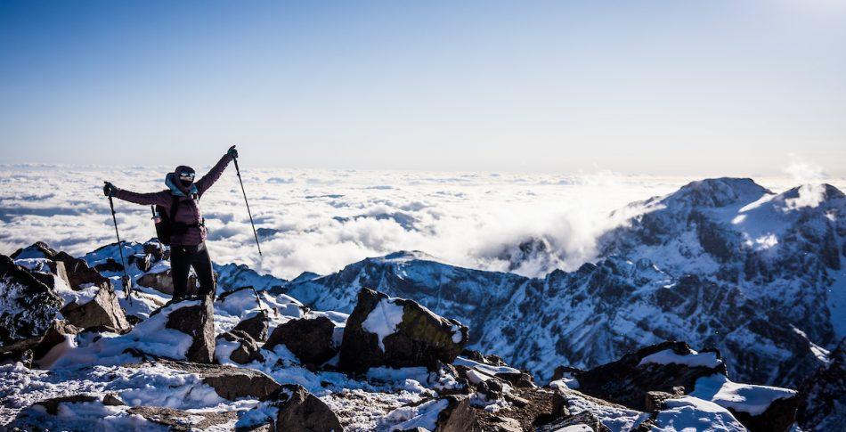 Til topps i Marokko; Toubkal og Ouanoukrim i januar