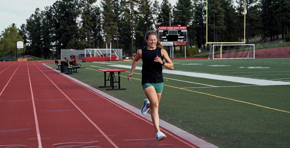 """""""Løper du maraton!? Da må du være skikkelig seig."""""""