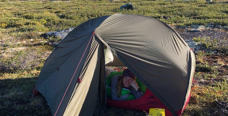 Lett og rask med telt, noe for deg?