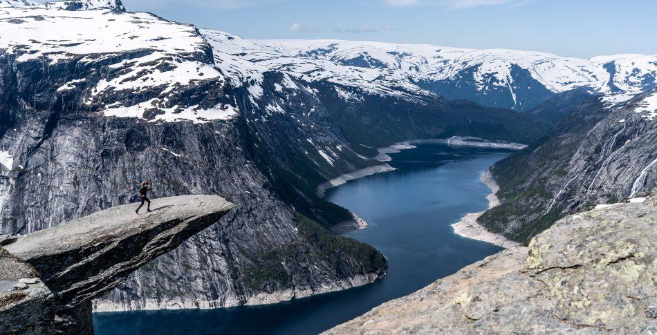 Norge for mine (løpe)føtter