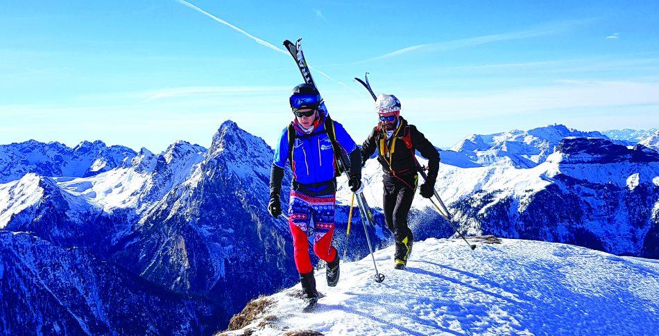 Randonee som vinteraktivitet for løpere
